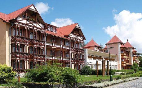 Slovensko - Vysoké Tatry na 4 až 5 dní, polopenze nebo snídaně s dopravou vlastní