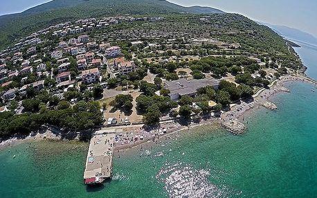 Chorvatsko - Kvarner na 8 dní, bez stravy s dopravou vlastní