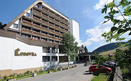 Slovensko - Ľubovnianske Kúpele na 7 až 8 dní, polopenze s dopravou vlastní