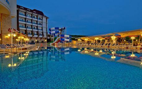 Turecko - Side na 8 dní, all inclusive s dopravou letecky z Prahy 600 m od pláže