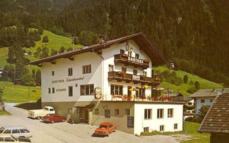 Rakousko - Zillertal Arena na 8 dní, polopenze s dopravou vlastní