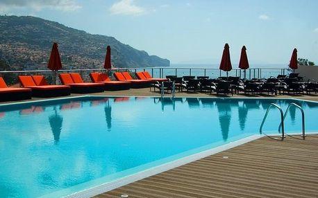 Madeira - Funchal na 8 dní, snídaně s dopravou letecky z Prahy 500 m od pláže