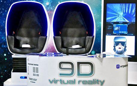 Dva filmy na 9D virtuální realitě pro 1 i 2 osoby