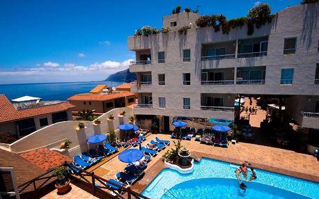 Kanárské ostrovy - Tenerife na 8 dní, polopenze, snídaně nebo bez stravy s dopravou letecky z Vídně 500 m od pláže
