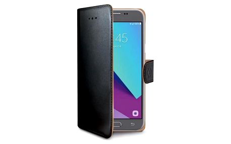 Celly Wally pro Samsung Galaxy J3 (2017) černé (WALLY663)