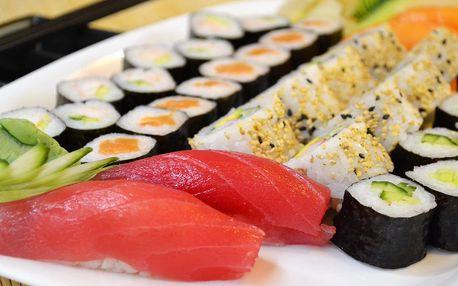 Sushi menu dle výběru: 20, 28, 36, nebo 38 ks