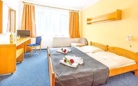 Františkovy Lázně: Hotel Zátiší *** s polopenzí a řadou wellness procedur