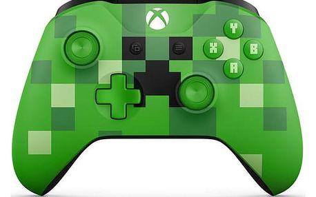 Microsoft Xbox One S Wireless - Minecraft Creeper (WL3-00057)
