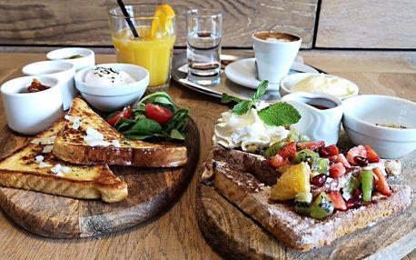 Brunch ve Wake up Café: Výběr ze dvou variant
