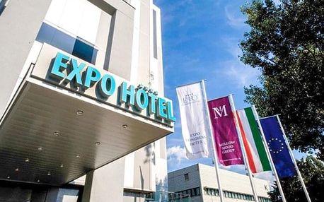 Budapešť luxusně v Expo Congress Hotelu **** s polopenzí a neomezeným wellness