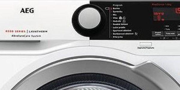 Sušička prádla AEG AbsoluteCare® T8DBE68SC bílá2