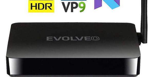 Multimediální centrum Evolveo MultiMedia Box M4 černý (MMBX-M4-HDR)5