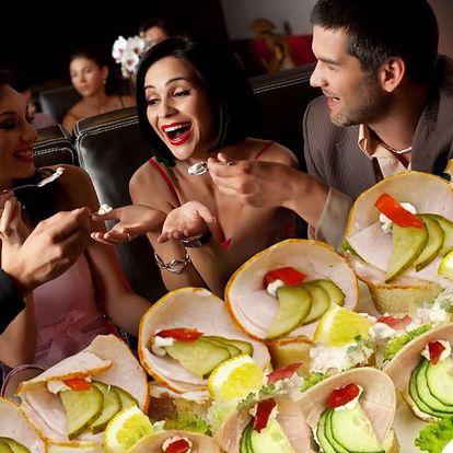 Silvestrovské občerstvení od profíků: 40-120 kanapek pro pohodovou oslavu