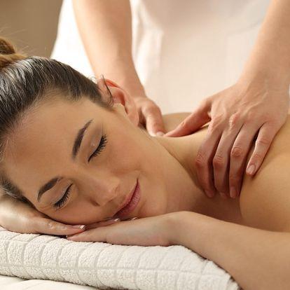 Intenzivní masáž zad a šíje včetně masáže obličeje