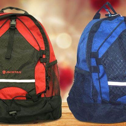 Univerzální sportovní batohy o objemu 20 i 30 l