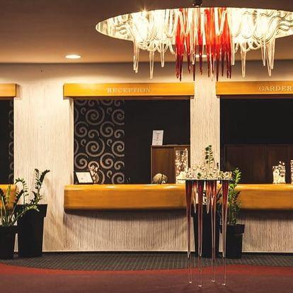 4* Parkhotel Morris Nový Bor: 3 dny relaxu pro dva vč. polopenze