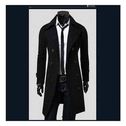 Pánský kabát Giorgio - Černá-M/L - dodání do 2 dnů