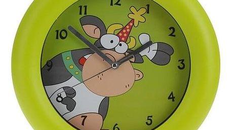 Nástěnné hodiny Cowie zelená, 26 cm