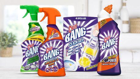 Cillit Bang: balíček domácích čištičů