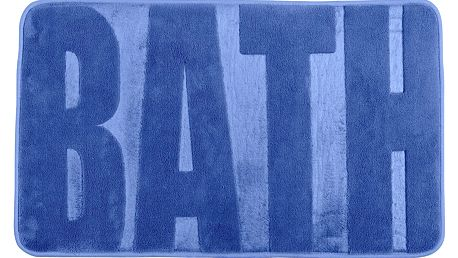 Koupelnový kobereček BATH FJORD BLUE, 80 x 50 cm, WENKO