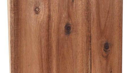 EH Excellent Houseware Kuchyňská deska pro krájení - obdélníkové, akátové dřevo, 42 x 32 cm