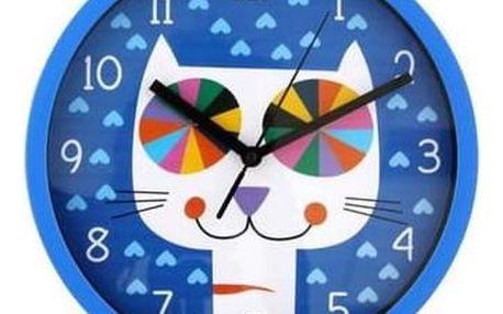 Nástěnné hodiny Mňau, 25 cm