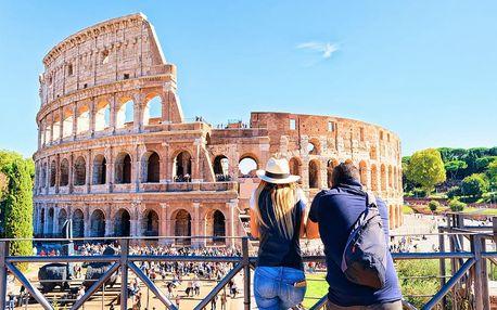 Itálie - Řím autobusem na 4 dny, snídaně v ceně