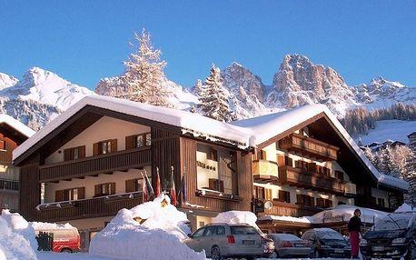 Itálie - Val di Fassa e Carezza na 5 až 8 dní, polopenze s dopravou autobusem nebo vlastní