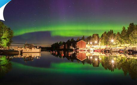 Letecký zájazd za polárnou žiarou a ďalšími krásami Laponska!