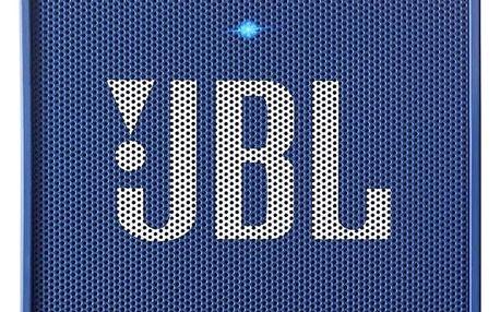 JBL GO modrý