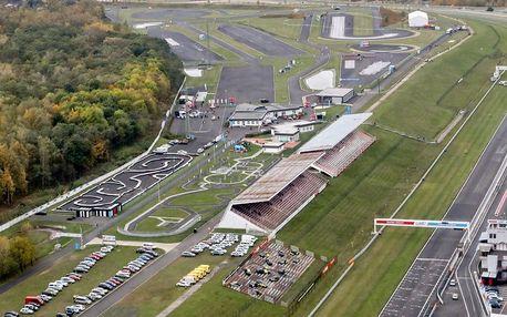Prohlídka zákulisí mezinárodního závodního okruhu