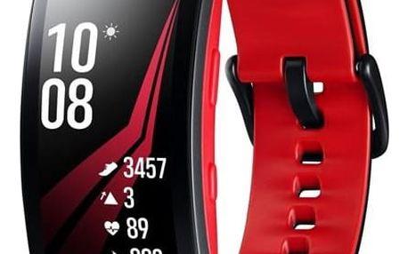 Samsung Gear Fit2 Pro vel. L černý/červený (SM-R365NZRAXEZ)
