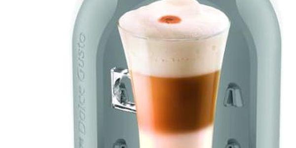 Espresso Krups NESCAFÉ Dolce Gusto Mini Me KP1201CS šedé/bílé3