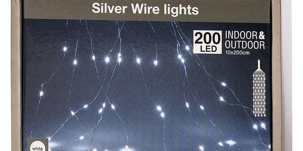 Světelný venkovní řetěz Soltar bílá, 200 LED2