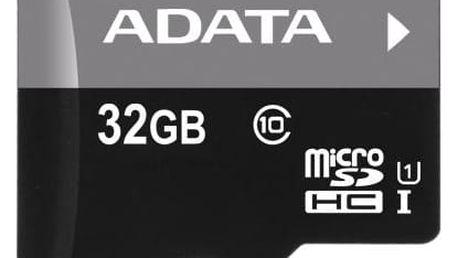 ADATA 32GB Class 10 UHS-U1 (50R/10W) + čtečka MicroReader Ver.3 černá (AUSDH32GUICL10-RM3BKBL)