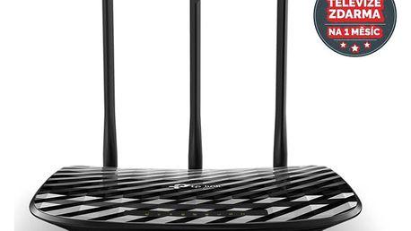 TP-Link Archer C2 AC900 + IP TV na 1 měsíc ZDARMA černý (Archer C2)
