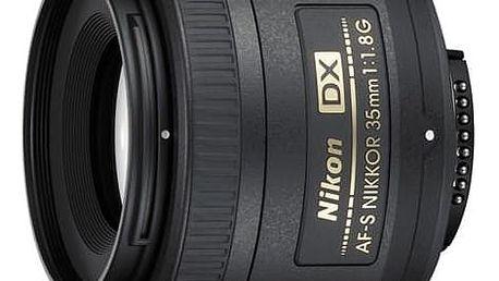 Nikon NIKKOR 35MM F1.8G AF-S DX černý