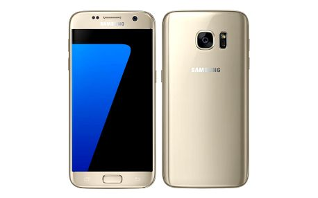 Mobilní telefon Samsung Galaxy S7 32 GB zlatý (SM-G930FZDAETL)