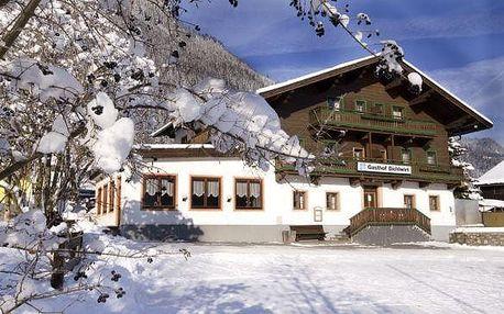 Rakousko - Saalbach / Hinterglemm na 8 dní, polopenze s dopravou vlastní
