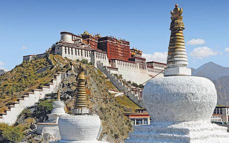 Vlakem až do tajemného Tibetu