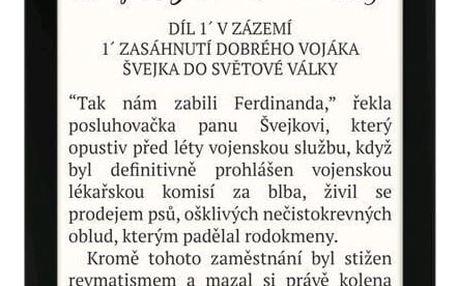 Pocket Book 627 Touch Lux 4 černá (PB627-H-WW)