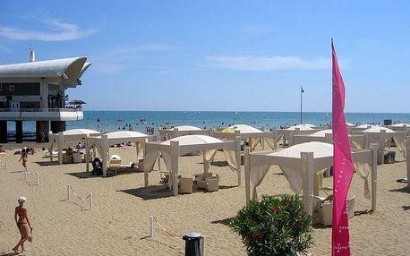 Itálie - Lignano na 8 dní, bez stravy s dopravou vlastní 300 m od pláže