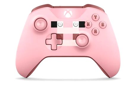 Microsoft Xbox One S Wireless - Minecraft Pig (WL3-00053)