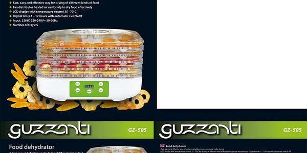 Sušička ovoce Guzzanti GZ 505 bílá3