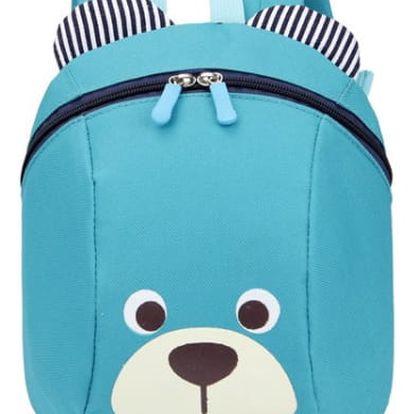 Dětský batoh s medvídkem - 4 barvy