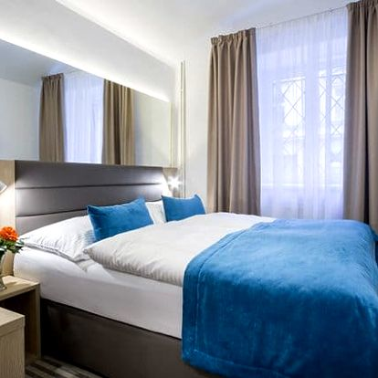 3denní pobyt pro 2 se snídaněmi v hotelu White Lion**** v Praze