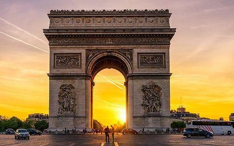 3denní víkendový zájezd pro 1 za romantikou do Paříže