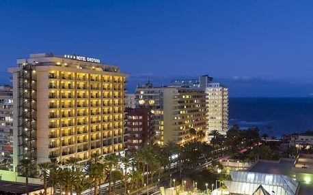 Kanárské ostrovy - Tenerife na 8 dní, all inclusive, polopenze nebo snídaně s dopravou letecky z Vídně 250 m od pláže