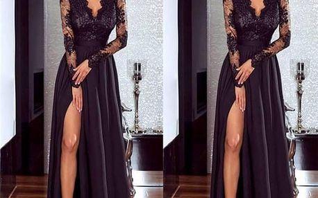 Luxusní plesové šaty - 2 barvy