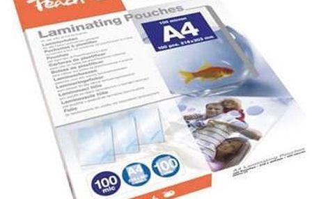 Peach A4 (216x303mm), 100mic, 100pck/BAL průhledná (PP500-02)